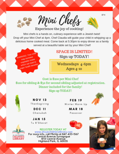 Mini Chefs updated